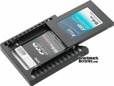"""NEW Cooler Master OEM dual 2.5"""" SSD SATA HDD TO 3.5"""" MOUNTING ADAPTER Rack"""