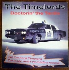 THE TIMELORDS Doctorin' the Tardis 12 inch 45 RPM Record Feat. DJ Cesar Dr. Who