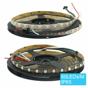 5m WS2812B 5050 RGB 300 Pixel LED Strip Magic Color Individual Addressable DC 5V