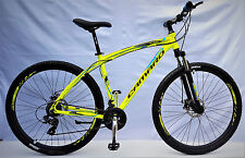 """Mountainbike 29"""" bicicleta GT ALUMINIO MTB, 21 Shimano, Disc Brake Sparkle, zoom voladizo"""