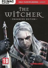 The Witcher Enhanced Edition For PC (New & Sealed)