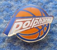 POLPHARMA STAROGARD GDANSKI BASKETBALL POLAND CLUB BIG VERSION PIN BADGE