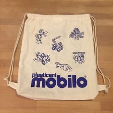 Mobilo Drawstring Storage Bag Construction Plasticant