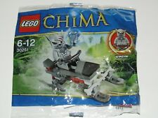 Lego Legends of Chima Winzar patrol buggy with mini figure sealed in bag 30251