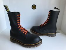 New! Dr. Martens Arrest Double Stitching Black Leather Boots Sz UK4 *England