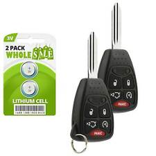 2 Replacement For 2008 2009 2010 2011 2012 Jeep Liberty Keyless Entry Key Fob
