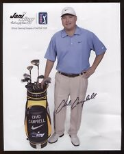 Chad Campbell Signed Photo Autographed Golf Photo Signature