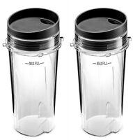 Ninja Single Serve 16-Ounce Cup Set for BL770 BL780 BL660 Professional Blender