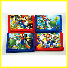 1 pcs Super Mario Bros. Kids Boys Various Stocking Filler Wallet Purse Coins Bag