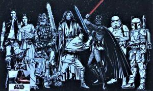 Disney Rare Star Wars Return of the Jedi Rubber Indoor Outdoor Doormat 18x30 NEW