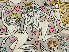 James Rizzi: original Zeichnung, Unikat, handkoloriert, handsigniert, 1992