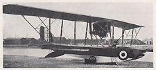 D2792 Idrovolante L 3 - Stampa d'epoca - 1922 vintage print
