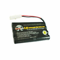 1x Ni-CD NiCD 9.6V Rechargeable Battery Pack Tamiya Connector for RC Toy USA