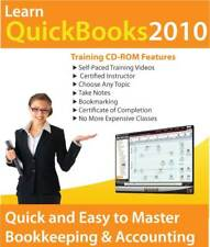 Learn QuickBooks Pro/Premier 2010 Basic Skills from Certified Instructor