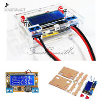 DC-DC Step-down Power Supply Module Adjustable Voltage Current LCD Display Shell