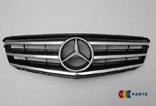 Neuf Véritable Mercedes Benz MB Classe C W204 AMG avant Calandre Noir Chrome