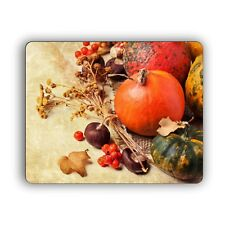 Fall Harvest Autumn Computer Mouse Pad for Home and Office