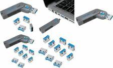 LogiLink USB Sicherheitsschloss, 1 Schlüssel / 4 Schlösser