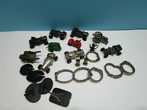 Konvolut Metallfiguren Bilderrahmen, Fahrzeuge usw. 100% Original (1)