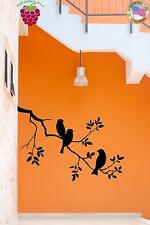 Wall Stickers Vinyl Decal Bird Branch Tree Cute Decor For Bedroom (z1772)