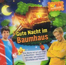 Ki.Ka Gute Nacht im Baumhaus 2CDs NEU Nena Rolf Zuckowski Volker Rosin Prinzen