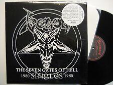 """VENOM """"SEVEN GATES OF HELL 1980 - 1985 SINGLES"""" 2LP - FOC - INCL. HELL AT HAMMER"""