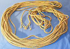 Cordage neuf fibres naturelles section 10 mm longueur 45 mètres 45 m