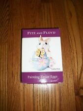 Fitz & Floyd Painting Easter Eggs Easter Bunny Candy Dish