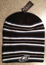 Philadelphia Eagles REEBOK Knit Beanie Toque Winter Hat Skull Cap NEW Long Tall