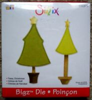 SIZZIX BIGZ Large Die CHRISTMAS TREES fits Cuttlebug