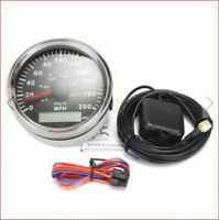 85mm, GPS, Compteur, 300KPH, 200MPH, Voiture, Camion,Moto, Carénage, Only, 12v &