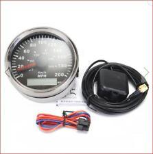 85 mm, GPS, Indicateur de vitesse, 300KPH, 200MPH, voiture, camion, moto, carénage, seul, 12 V,, &, 24 V