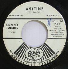 Country Promo 45 Kenny Roberts - Anytime / Trying The Leaves On Tommy Hill Stard