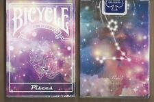 1 DECK Bicycle Constellation PISCES zodiac playing cards FREE USA SHIPPING