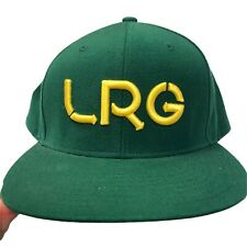 LRG Lifted Research Group Snapback Green & Gold