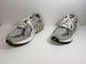 New Balance 990 Men's Running Shoes Gray White M990GL3 Sz 14