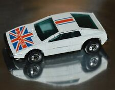 NICE Vintage 1978 Hot Wheels LOTUS Royal Flash British Flag Excellent Shape Rare