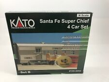 KATO 106 6002 SANTA FE SF SUPER CHIEF 4 CAR SET B