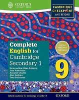 Complete English for Cambridge Lower Secondary 9. Cambridge Checkpoint and beyon