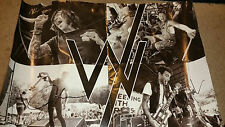 Sleeping with sirens poster signed autograph 24x18