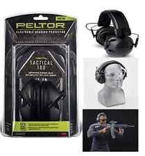 3M Peltor Sport Tactical Electronic Hearing Protector Gun Shots Shooting Range