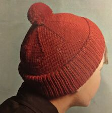 Cg28 - Knitting Pattern - 2-in-1 - DK Beanie & Balaclava Swiss Hat