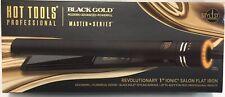 Hot Tools Professional Master Series Black Gold Micro-Shine Flat Iron, 1 Inch