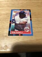 Donruss 1988 Trading Card Kirby Puckett #BC15 Minnesota Twins