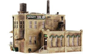 Woodland Scenics N Scale Pre-Fab Building/Structure Kit Sicken Tire Company