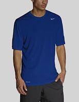 Nike 835872-480 Men's LEGEND DRI-FIT Polyester Crewneck T-Shirt Royal Blue