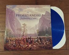 Propagandhi Supporting Caste Blue Color Vinyl Bad Religion NOFX Fat Wreck Chords