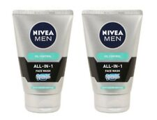 Nivea Men All In 1 Oil control Face Wash, 100 gm x 2 pack (Free shipping world)