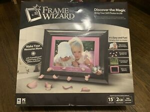 FrameWizard 15-Inch Digital Picture Frame - Black