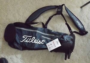 New Titleist Premium Carry Bag Charcoal-Grey For Golf Clubs Irons Drivers Putter